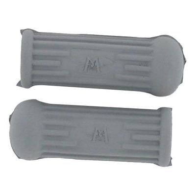Caoutchouc gris de repose pieds arrière 75mm pour MBK / Motobecane