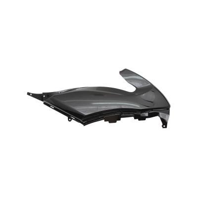 Capot de selle droit noir brillant adaptable Yamaha 500 T-max 2008>2011