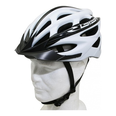 Caque vélo VTT/route/E-bike Gist Faster blanc/noir
