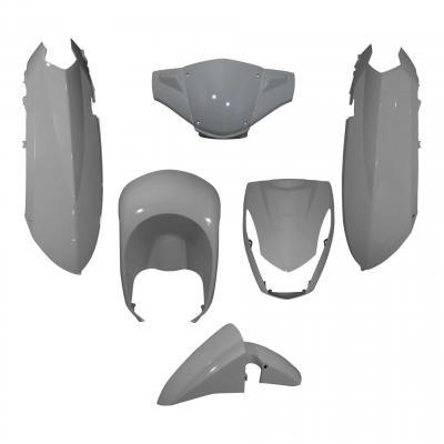 Carénages Peugeot 50 Kisbee gris mat 6 pièces