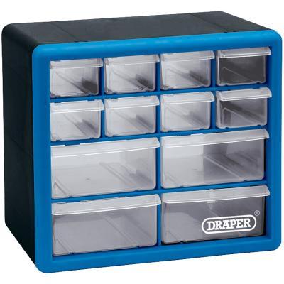 Casier de rangement Draper 12 tiroirs plastique