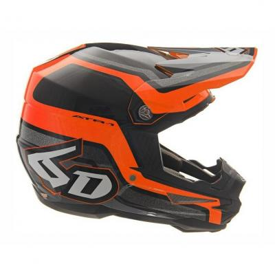 Casque cross 6D ATR-1 Fuse orange/noir