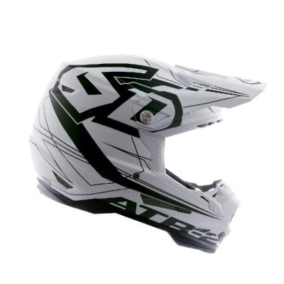 Casque cross 6D ATR-2 Aero blanc