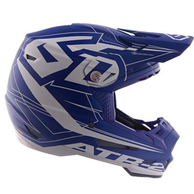 Casque cross 6D ATR-2 Aero bleu