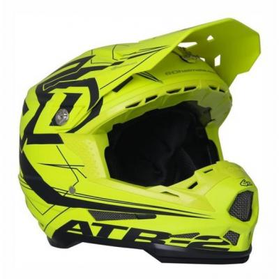 Casque cross 6D ATR-2 Aero jaune fluo
