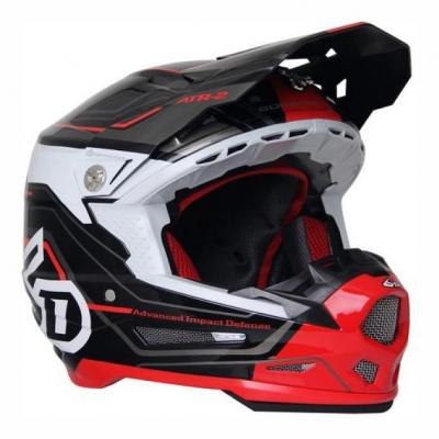 Casque cross 6D ATR-2 Circuit noir