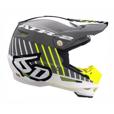 Casque cross 6D ATR-2 Motion jaune/gris