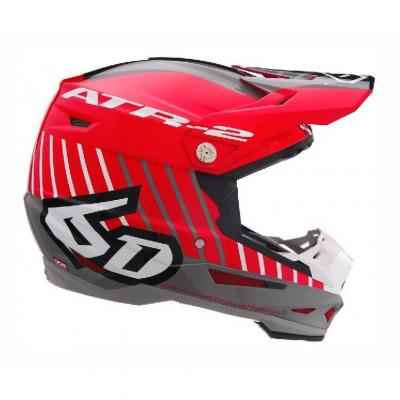 Casque cross 6D ATR-2 Motion rouge