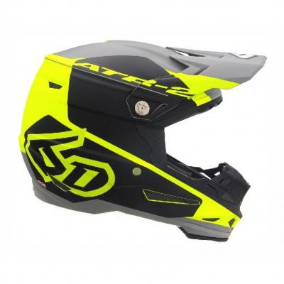 Casque cross 6D ATR-2 Shadow jaune/noir