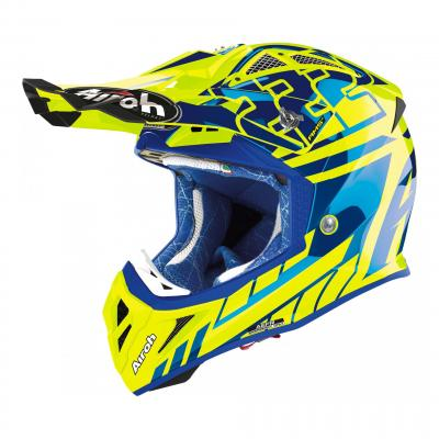 Casque cross Airoh Aviator 2.3 Réplica Cairoli 2020 Chrome