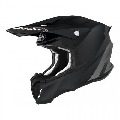 Casque cross Airoh Twist 2.0 Color noir mat