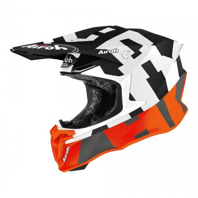 Casque cross Airoh Twist 2.0 Frame orange mat