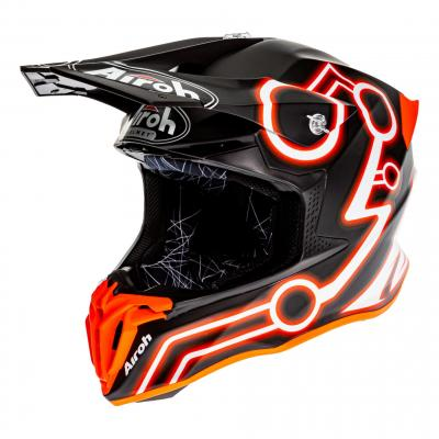 Casque cross Airoh Twist 2.0 Neon orange mat