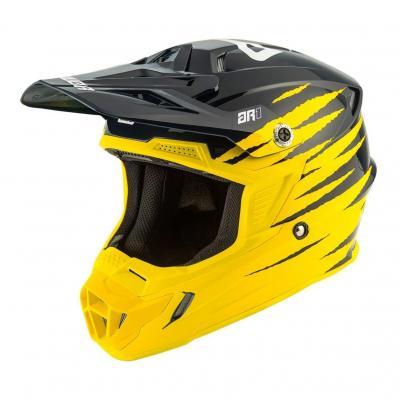 Casque cross Answer AR1 Pro Glow jaune/noir/blanc
