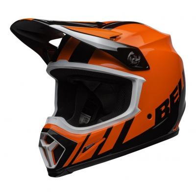 Casque cross Bell MX-9 Mips Dash orange/noir