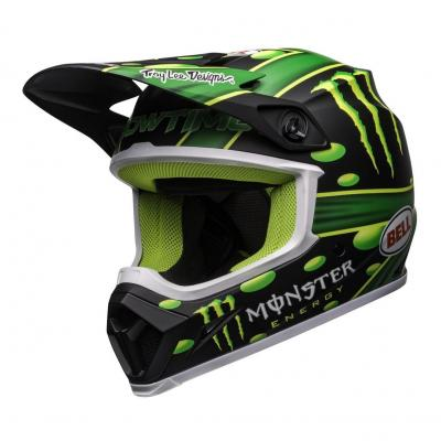 Casque cross Bell MX-9 Mips McGrath Showtime Replica noir/vert