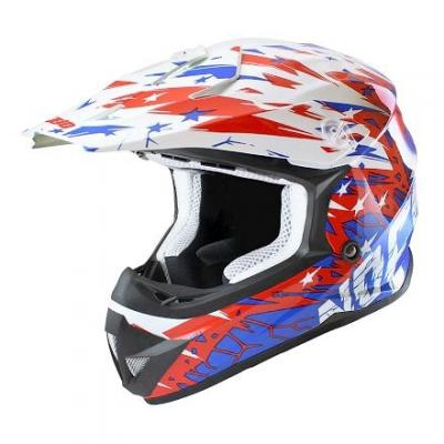 Casque Cross enfant Noend Cracked USA