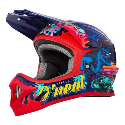 Casque cross enfant O'Neal 1SRS Rex multicolore