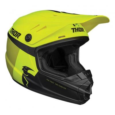 Casque cross enfant Thor Sector Racer acid/citron mat