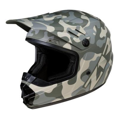 Casque cross enfant Z1R Rise Camo-Desert gris/camouflage