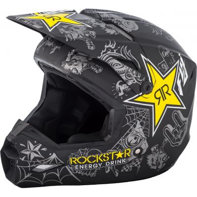 Casque cross Fly Racing Elite Guild Rockstar