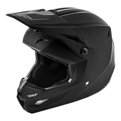 Casque cross Fly Racing Kinetic K120 noir mat