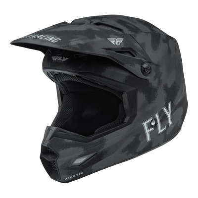 Casque cross Fly Racing Kinetic S.E. Tactic gris/camouflage mat