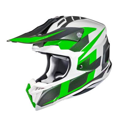 Casque cross HJC I50 Argos noir/blanc/vert
