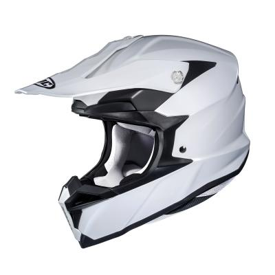 Casque cross HJC I50 Solid blanc