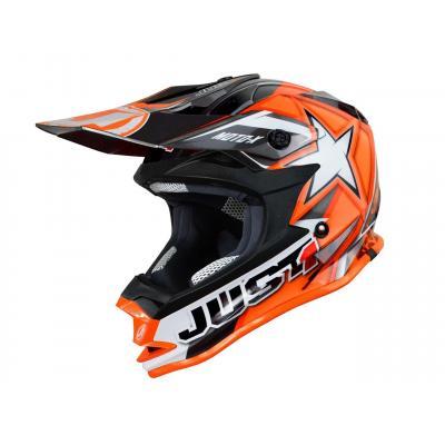 Casque cross Just1 J32 Moto X Orange