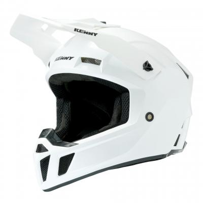 Casque cross Kenny Performance 2020 Solid blanc