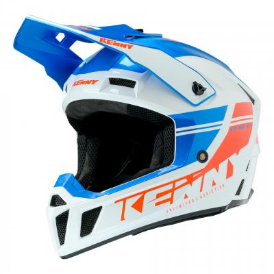 Casque cross Kenny Performance 2020 bleu/blanc/rouge