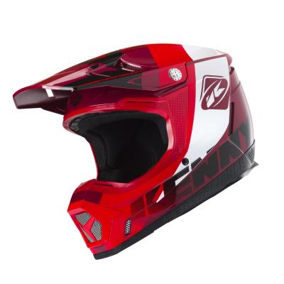 Casque cross Kenny Performance rouge candy