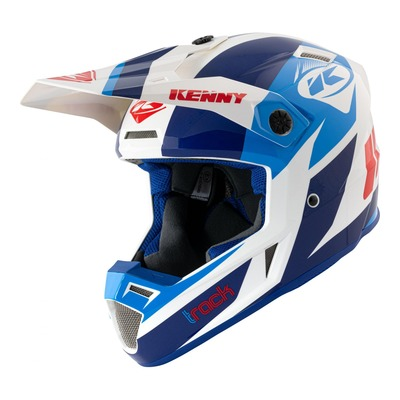 Casque cross Kenny Track Graphic Patriot