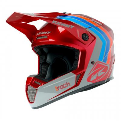 Casque cross Kenny Track Victory bordeaux