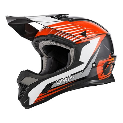 Casque cross O'Neal 1SRS Stream noir/orange