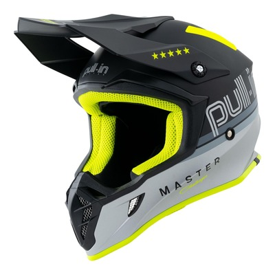 Casque cross Pull-in Master gris