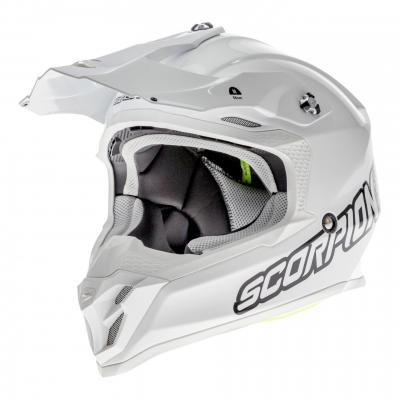 Casque cross Scorpion VX-16 Air blanc/blanc