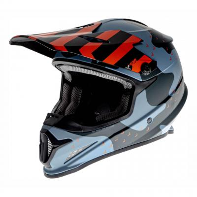 Casque cross Thor Sector Mosser bleu camo mat