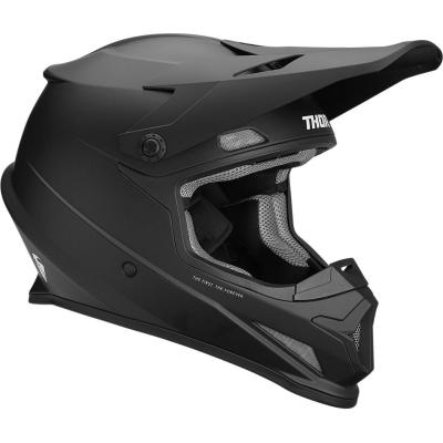 Casque cross Thor Sector noir mat