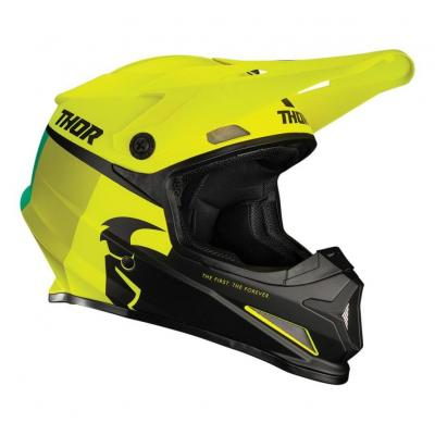 Casque cross Thor Sector Racer acid/citron mat