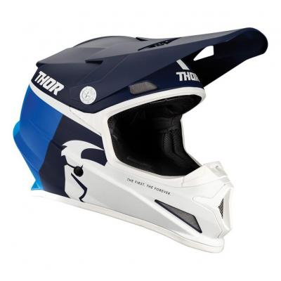 Casque cross Thor Sector Racer navy/bleu mat