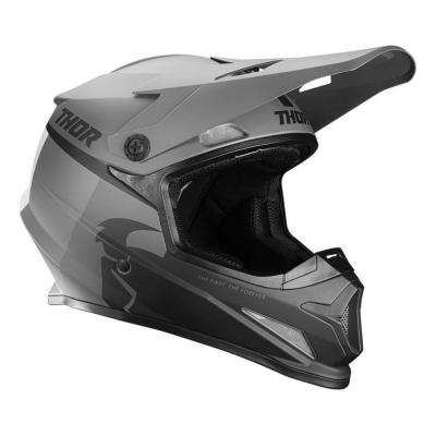 Casque cross Thor Sector racer noir/charcoal mat