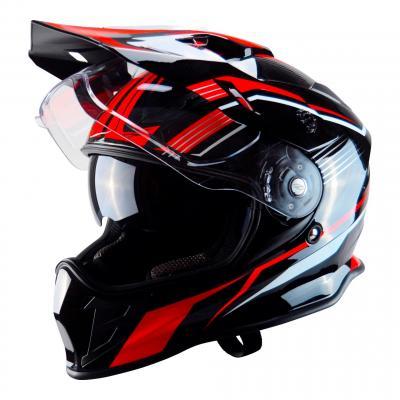Casque cross Trendy T-803 noir / rouge