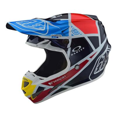 Casque cross Troy Lee Designs SE4 Carbon Metric navy