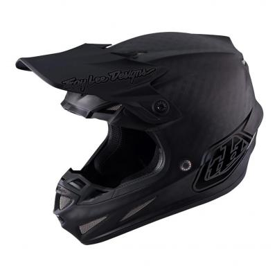 Casque cross Troy Lee Designs SE4 Carbon Midnight noir