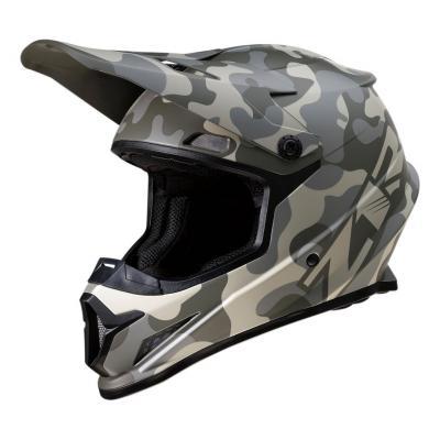 Casque cross Z1R Rise Camo-Desert gris/camouflage