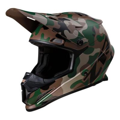Casque cross Z1R Rise Camo-Woodland vert/camouflage
