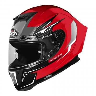 Casque intégral Airoh GP550 S Venom rouge brillant