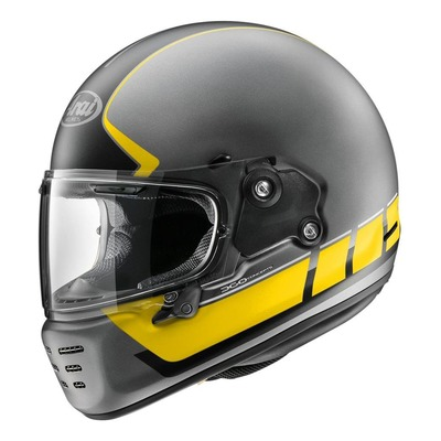 Casque intégral Arai Concept-X Speedblock jaune/noir mat